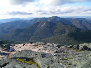 Photo: Mount Colden and Algonquin Peak in the MacIntyre Range from Mount Marcy.