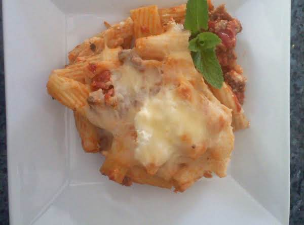 Pasta Rustica With Three Cheeses