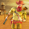Cowboy Gang War Fight : Western Gang Shooting 3D icon