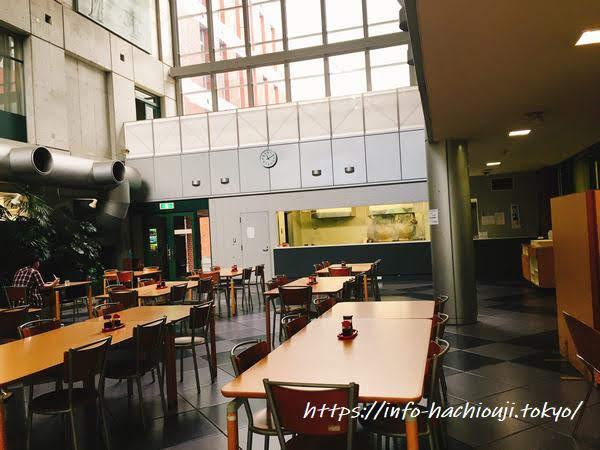 東京薬科大学 学食