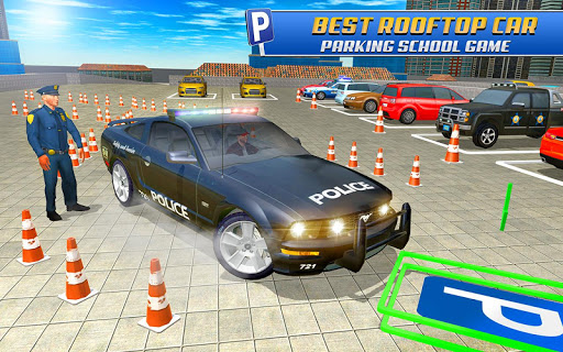 Police Car Parking: Police Jeep Driving Games screenshots 14