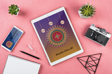 Download Mandala Colour Fill 2019 For PC Windows and Mac apk screenshot 1