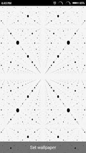 Live Wallpaper Moving Dots - náhled