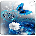 love 3d live wall paper icon