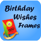 English Birthday Wishes Frames