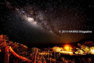 Photo: OUTDOOR CATEGORY, FINALIST. Nighttime on Mauna Kea, Big Island. Photo by Henry Aguilar, Ewa Beach, Oahu, Hawaii.