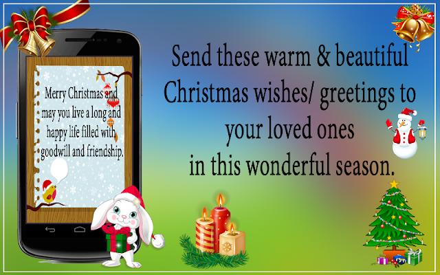 Christmas Greetings HD Cards - screenshot