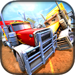 18 Wheeler Truck Crash Derby Icon