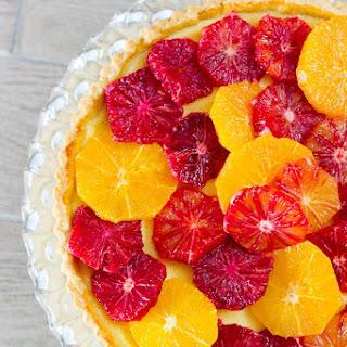 Blood Orange and Ricotta Tart Recipe