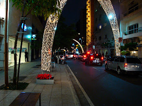Photo: Sao Paulo - most expensive shopping street