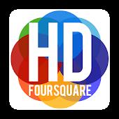 HD Foursquare App