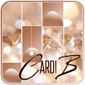 Card B Piano Tiles Game