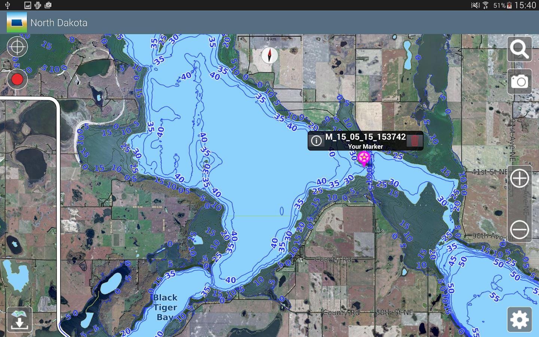 Aqua Map North Dakota Lakes Android Apps On Google Play - Aqua map us
