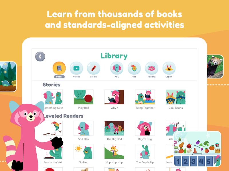 Khan Academy Kids: Free educational games & books Screenshot 13