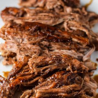 Slow Cooker Balsamic Pork.