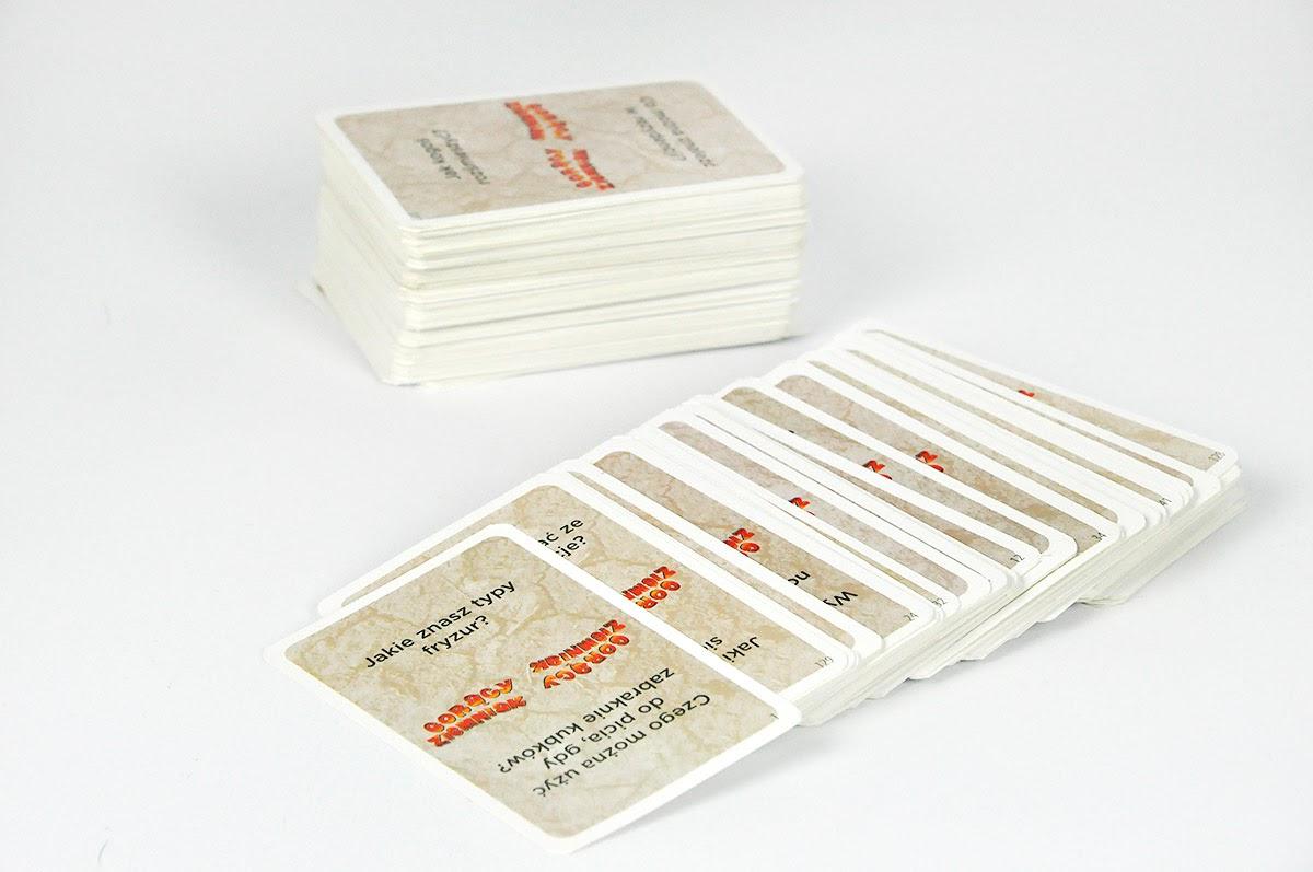 Gorący Ziemniak - karty