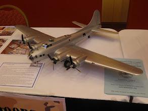 Photo: Here is a build up of the HK 1/32nd B-17G.  It doesn't look that big.