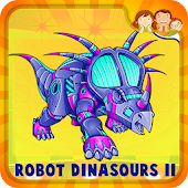 Robot Dinosaur Puzzle For Kids