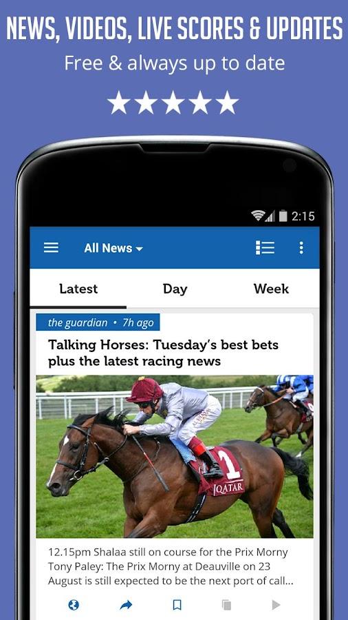 Horse Racing News - SF- screenshot