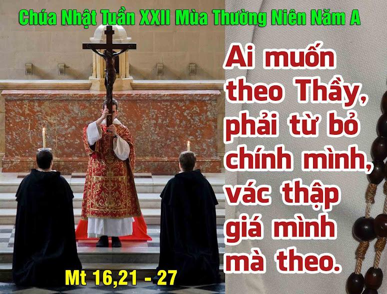 Nghe giảng Chúa nhật XXII thường niên năm A (2011 – 2014)
