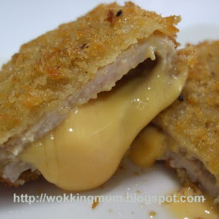 Cheesy Pork Cutlet