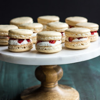 Strawberry Shortcake Macarons.