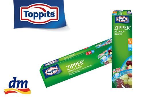 Bild für Cashback-Angebot: Toppits® Zipper® 1l und 3l - Toppits