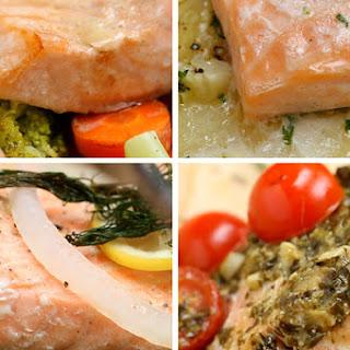 1. Salmon Dinner Four Ways