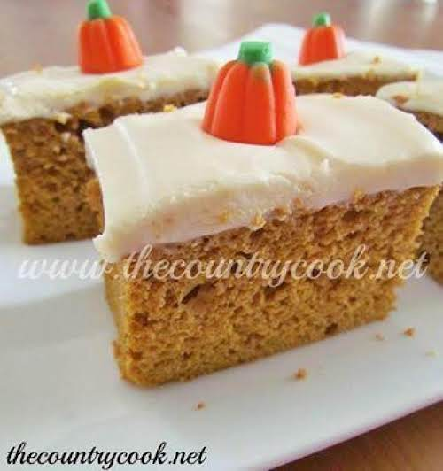 "Pumpkin Spice Cake ""I made this as a last minute thought to..."