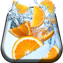 Sweet Oranges Live Wallpaper icon