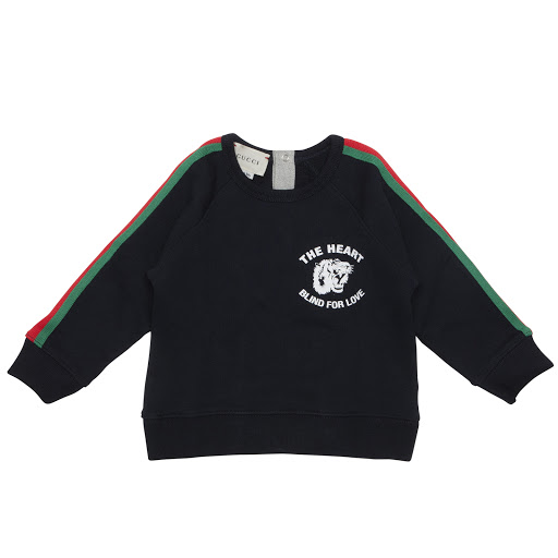 Primary image of Gucci Baby Web Trim Sweatshirt