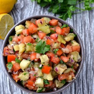 Smoky Eggplant & Tomato Salad.