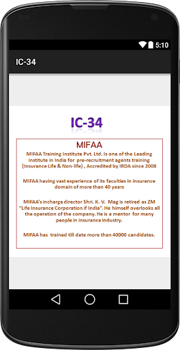IC-34 Reading Material MIFAA