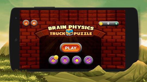 Brain Physics Truck Puzzle 1.1.7 screenshots 1