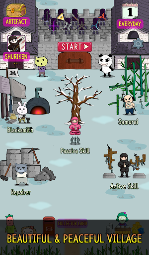 NINJA SHURIKEN - Legend Defense screenshot 24