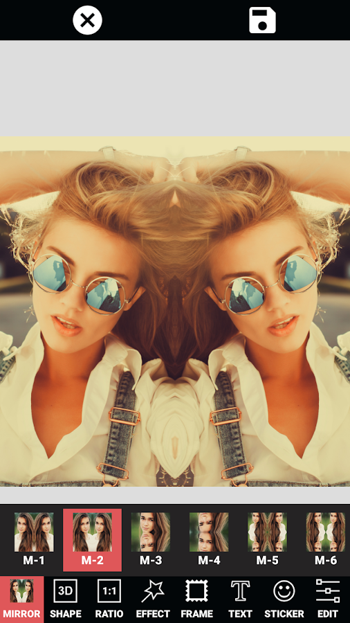 Mirror Image - Photo Editor- screenshot