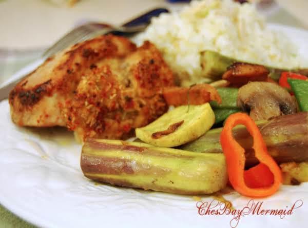Rainbow Veggies In Garam Marsala Recipe