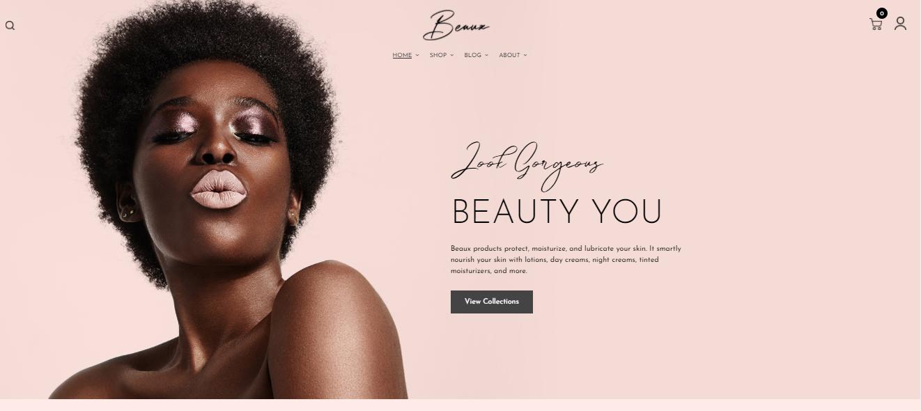 Beaux - Hair salon shopify theme