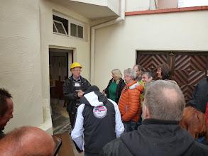 Photo: Die Einweisung für die Unterweltführung durch unseren Touristenführer