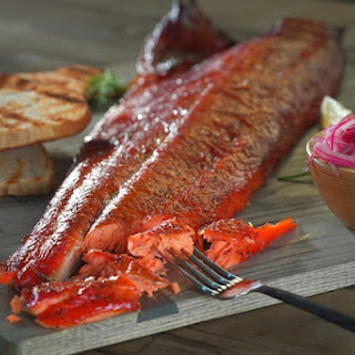 Maple-Cured and Smoked Salmon Recipe
