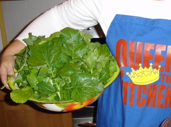 Trio Of Mixed Greens Recipe