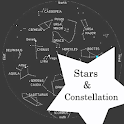 constellation star night sky icon