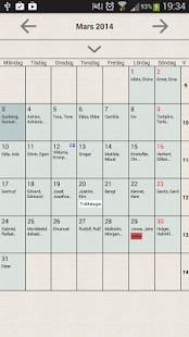 Swedish Calendar (Full Version)