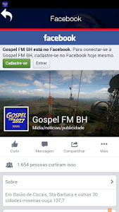 Gospel FM Minas Radio screenshot 4