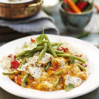 Creamy Thai Chicken Curry.