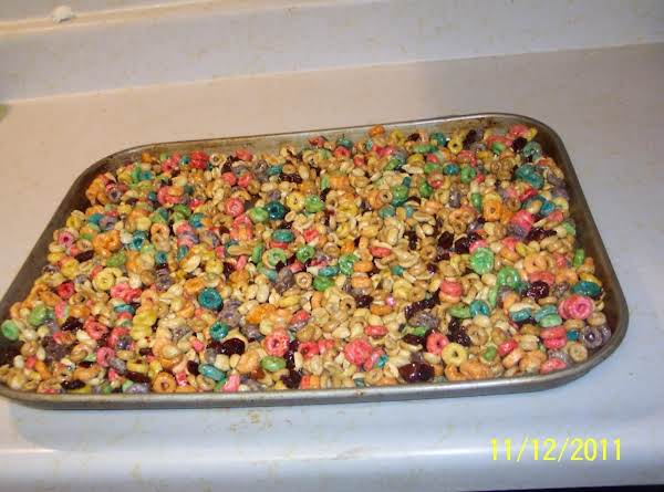 Cheerio Nugget Crunch  Candies..  For Chris C. Recipe