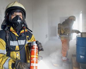 Befestigung des Feuerlöschspray-Halters FLS580 im Auto