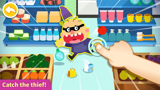 Baby Panda's Town: Supermarket screenshot 5