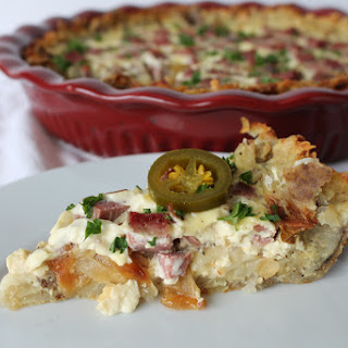 Corned Beef Hash Quiche