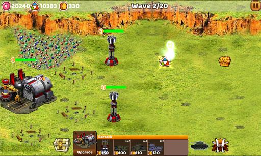 Tank Defend: Red Alert Command  captures d'écran 2